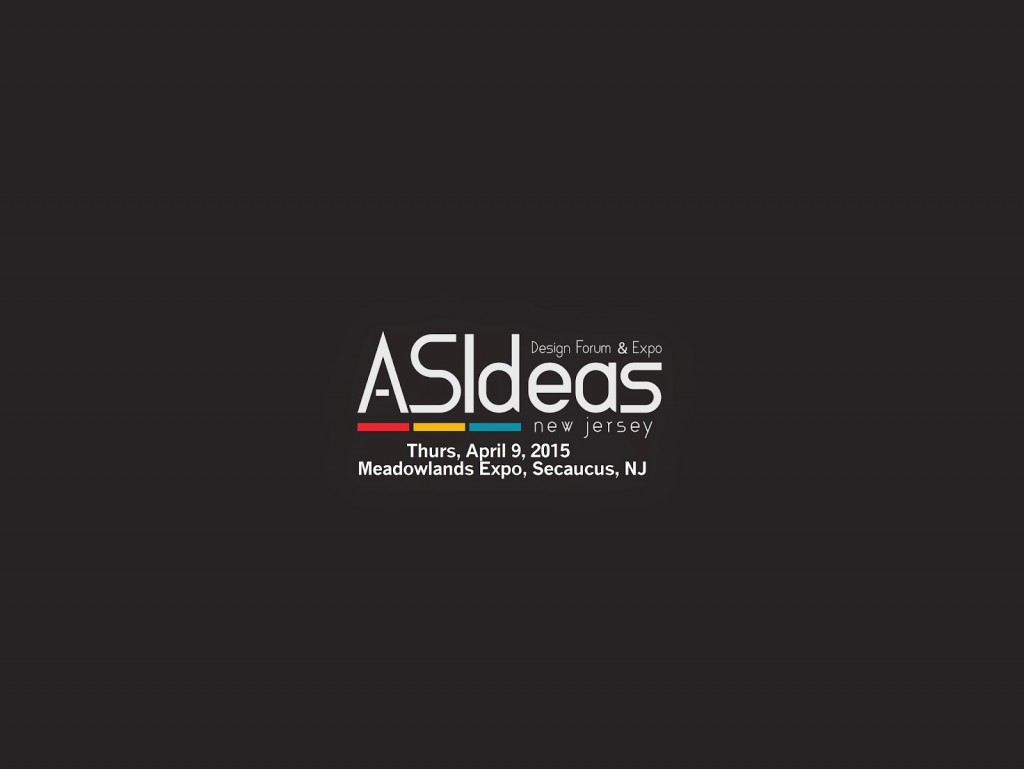 Asideas logo on Black Band w date n address